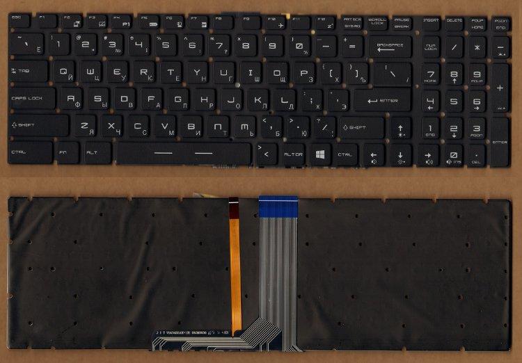 Клавиатура для ноутбука MSI MS-16J1 MS-16J2 MS-1781 GT72 GP72 GS60 GS62 GS63 GS70 PE60 PE70 GE72 GE62 GL62 GL72